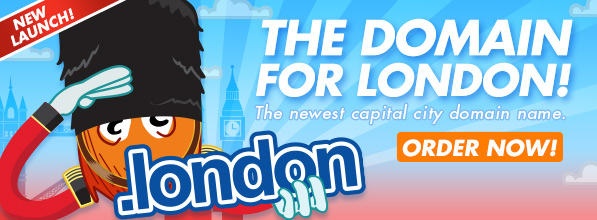 Apply for a .london domain name today